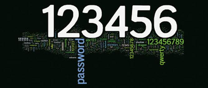 25 mật khẩu tệ nhất 2012