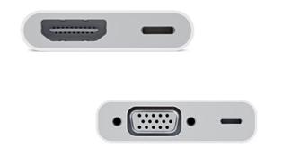 Apple ra mắt cáp Lightning VGA và HDMI, giá 49 USD