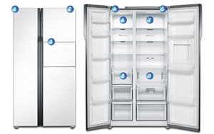 Tủ lạnh Samsung Super Star giá từ 31 triệu đồng