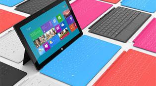 Máy tính bảng Surface được bán từ hôm nay