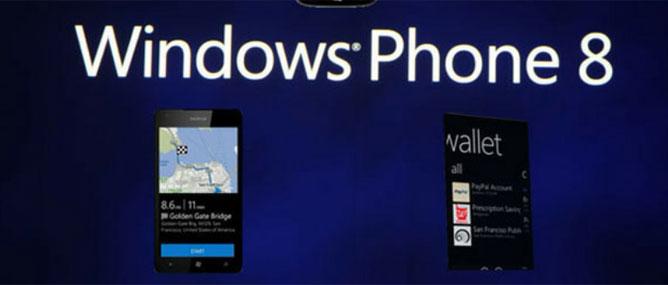 Windows Phone 8 phát hành ngày 29/10