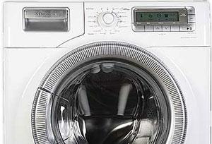 Cách khử mùi máy giặt cửa trước
