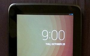 Lộ ảnh Google Nexus 10, màn hình sắc nét hơn iPad 3