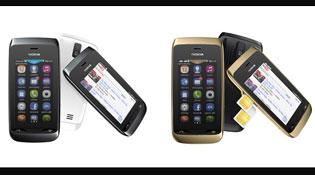 Nokia Asha 309 và Asha 308 có giá 2,25 và 2,3 triệu đồng