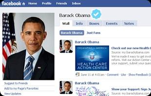 Barack Obama lo con gái dùng Facebook hơn cả hẹn hò
