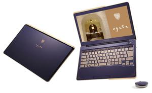 Ultrabook Fujitsu thương hiệu Floral Kiss dành cho khách hàng nữ
