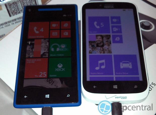 Verizon Nokia Lumia 822 và HTC 8X sẽ lên kệ vào ngày 8/11?
