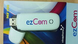 VinaPhone tặng cước ezCom trả sau tới 100.000 đ/tháng