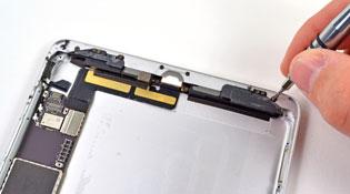 """""""Mổ"""" iPad Mini: loa stereo, màn hình của Samsung"""