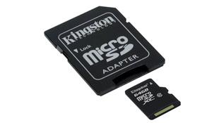 Kingston công bố thẻ nhớ mới microSDXC 64GB Class 10