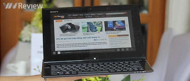 Trên tay Sony Vaio Duo 11