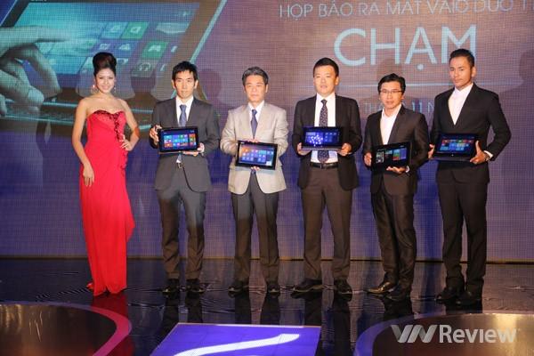 Sony ra mắt ultrabook biến hình VAIO Duo 11 tại Việt Nam