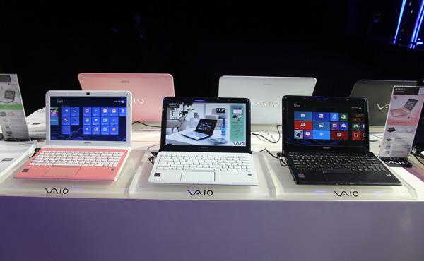 Sony bổ sung dòng sản phẩm Touch cho laptop Vaio E và Vaio T series