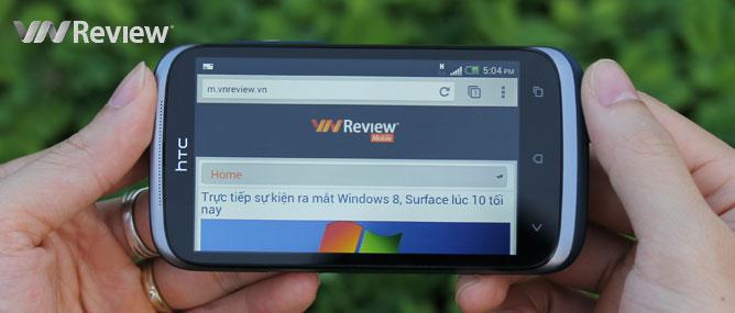 Đánh giá HTC Desire X