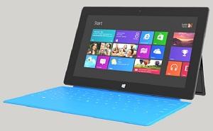 Surface RT 32GB chỉ có 16GB trống