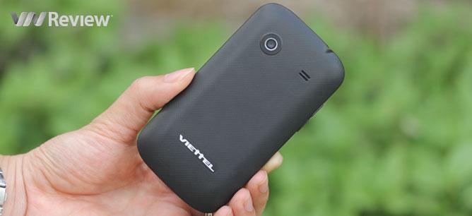 Đánh giá smartphone Viettel V8403