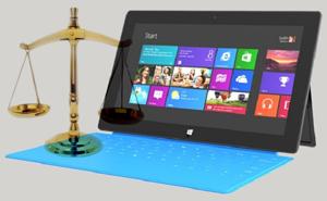 Kiện Microsoft quảng cáo sai về dung lượng bộ nhớ Surface RT