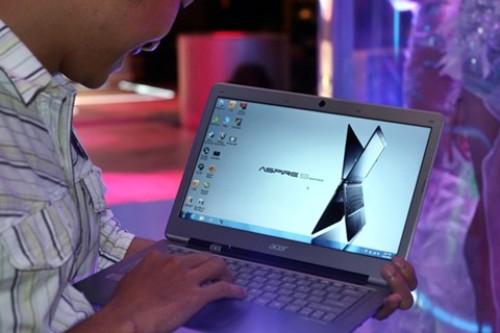 Ultrabook Acer Aspire S3 ra mắt thị trường Việt Nam