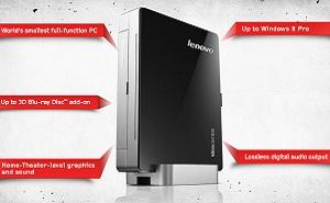 Lenovo giới thiệu PC siêu nhỏ chạy Windows 8