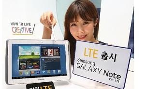 Samsung xuất xưởng Galaxy Note 10.1 phiên bản LTE