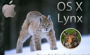 """Apple có thể đặt tên phiên bản OS X mới là """"Lynx"""""""