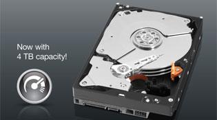 Western Digital xuất xưởng ổ cứng 4TB, giá 340 USD