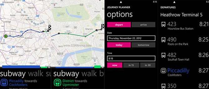 Nokia cập nhật ứng dụng Nokia Transport cho WP8