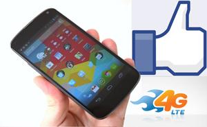 Nexus 4 có thể hỗ trợ 4G LTE trên một vài mạng không dây
