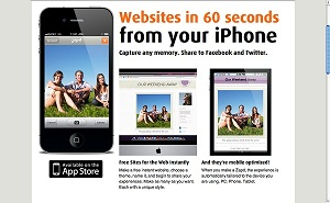 Tạo trang web ngay trên iPhone của bạn