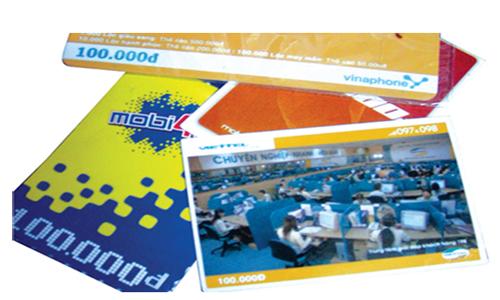 Dừng khuyến mại tặng giá trị thẻ cào đến hết 2012