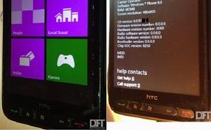 """""""Đồ cổ"""" HTC HD2 chạy được Windows Phone 8"""