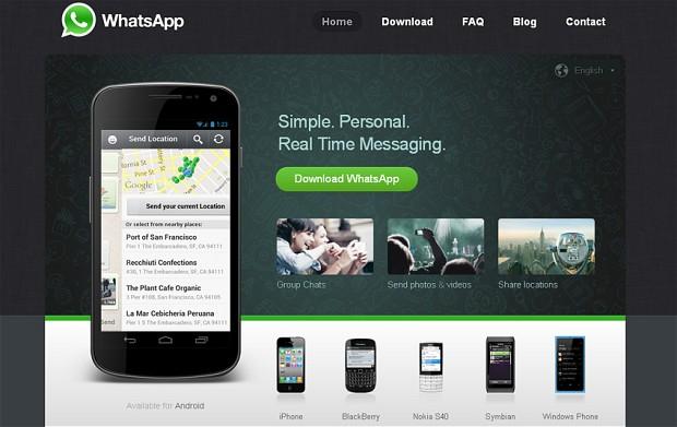 Vì sao Google mua WhatsApp