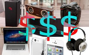 7 sản phẩm công nghệ xa xỉ nhất năm 2012