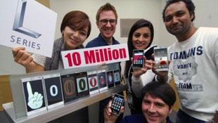 LG công bố bán được 10 triệu smartphone L-Series