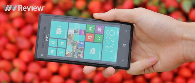 Trên tay HTC 8X: Windows Phone 8 bước ra thị trường