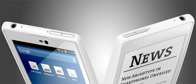 Trên tay smartphone 2 màn hình YotaPhone