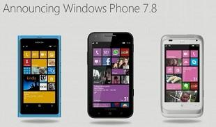 Xuất hiện bản cập nhật Windows Phone 7.8 cho điện thoại Nokia Lumia
