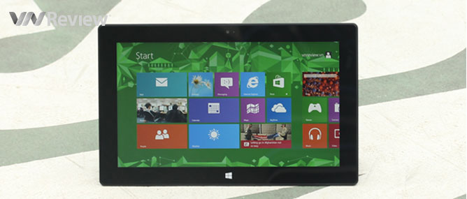 Độc giả trúng máy tính bảng Surface RT có mã số SFRT2790