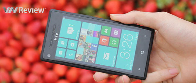 Đánh giá HTC 8X