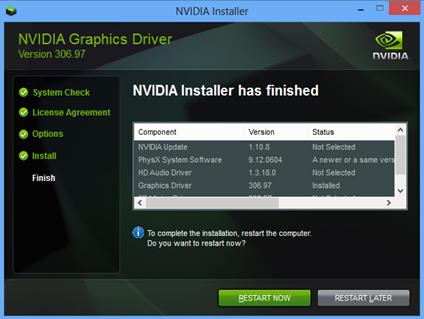 nvidia geforce update