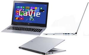 NEC ra mắt ultrabook Lavie X mỏng nhất thế giới