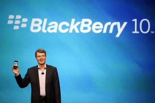 Rò rỉ thêm sản phẩm chạy BlackBerry 10