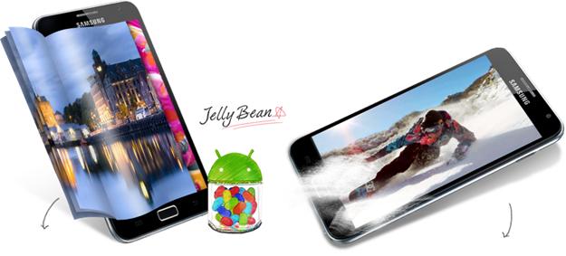 Samsung xác nhận Jelly Bean cho Galaxy Note