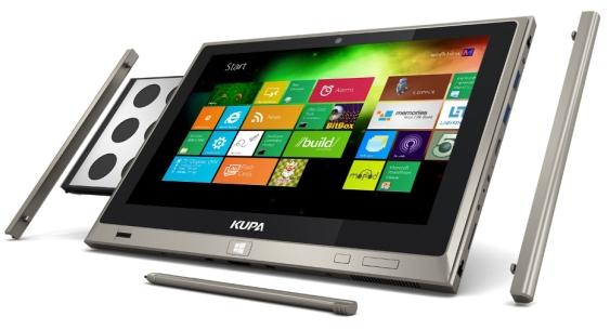 Tablet Kupa X15 dùng Windows 8 ra mắt, giá khởi điểm 1100 USD