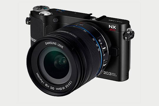 Samsung công bố máy ảnh không gương lật NX200