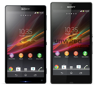 Sony xác nhận Xperia Z và ZL