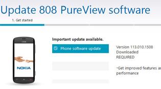 Nokia 808 PureView có bản cập nhật qua PC Suite