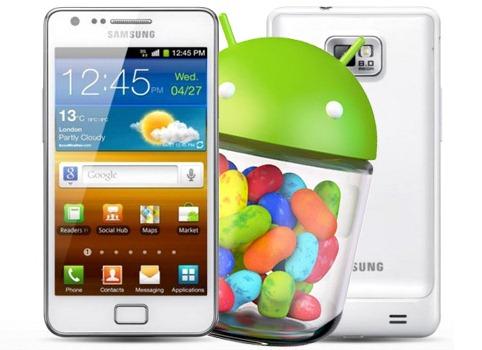 Samsung tiết lộ chi tiết bản cập nhật Jelly Bean cho Galaxy S II