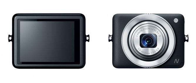 Canon công bố PowerShot N, máy ảnh không có nút chụp