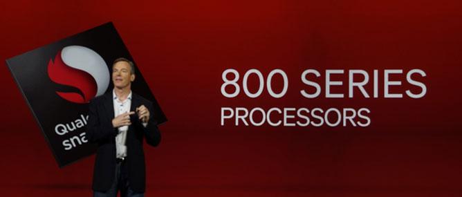 Qualcomm trình làng bộ xử lí Snapdragon 800 và 600